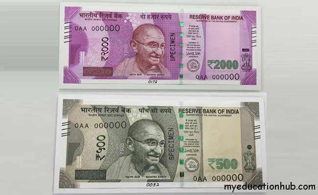 new notes rs 500 and rs 1000